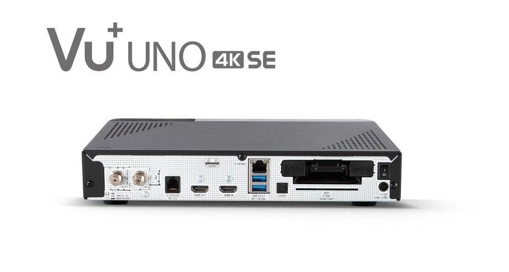 VU+ Uno 4K SE  - günstig ins UHD-Zeitalter 12 techboys.de • smarte News, auf den Punkt! VU+ Uno 4K SE  - günstig ins UHD-Zeitalter