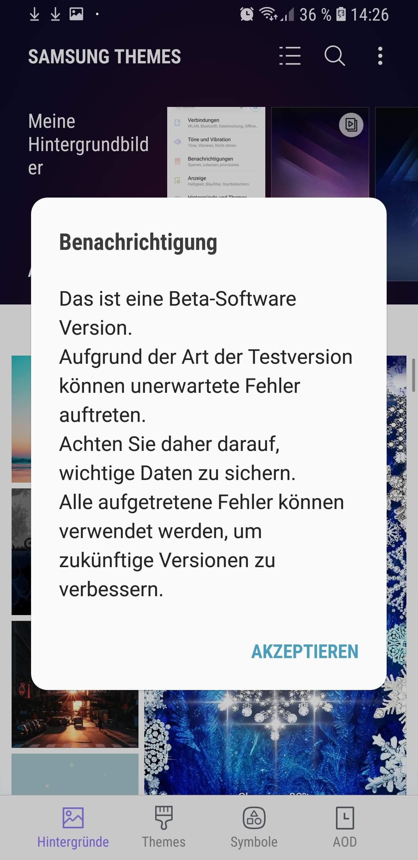 Überraschung: Samsung veröffentlicht Galaxy S8 (S8+) Android 8 Beta auch in Deutschland 13