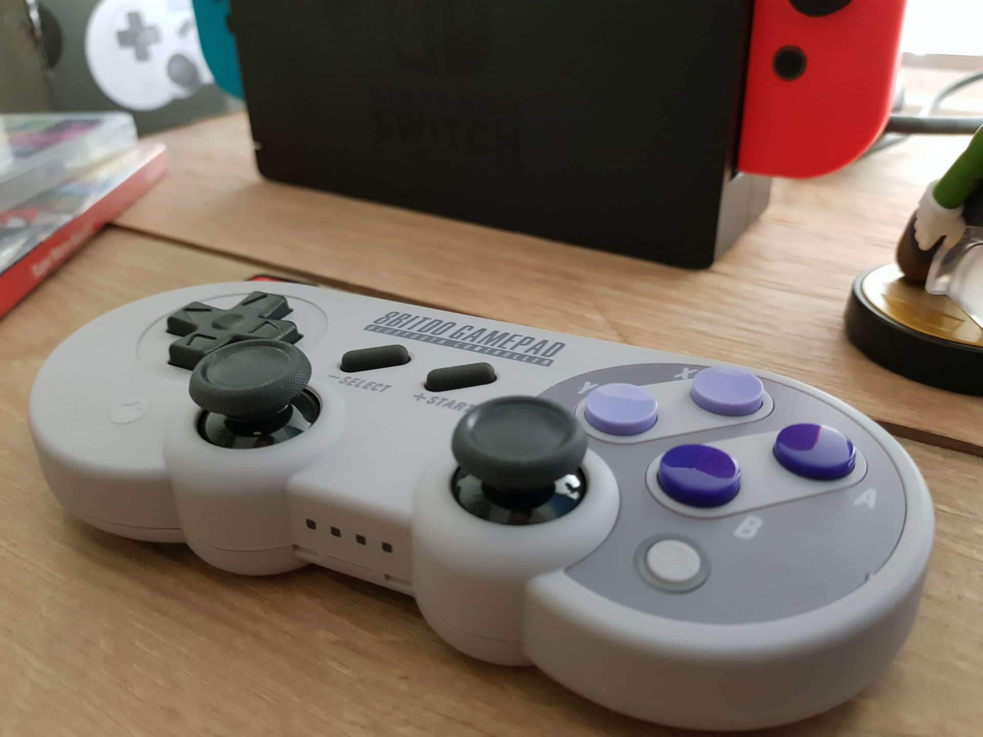 8Bitdo SN30 PRO Gamepad Test: Switch Controller im Retro Design 7