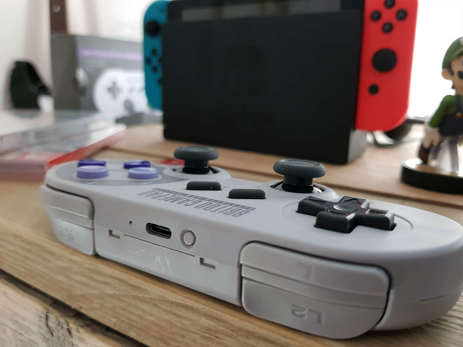 8Bitdo SN30 PRO Gamepad Test: Switch Controller im Retro Design