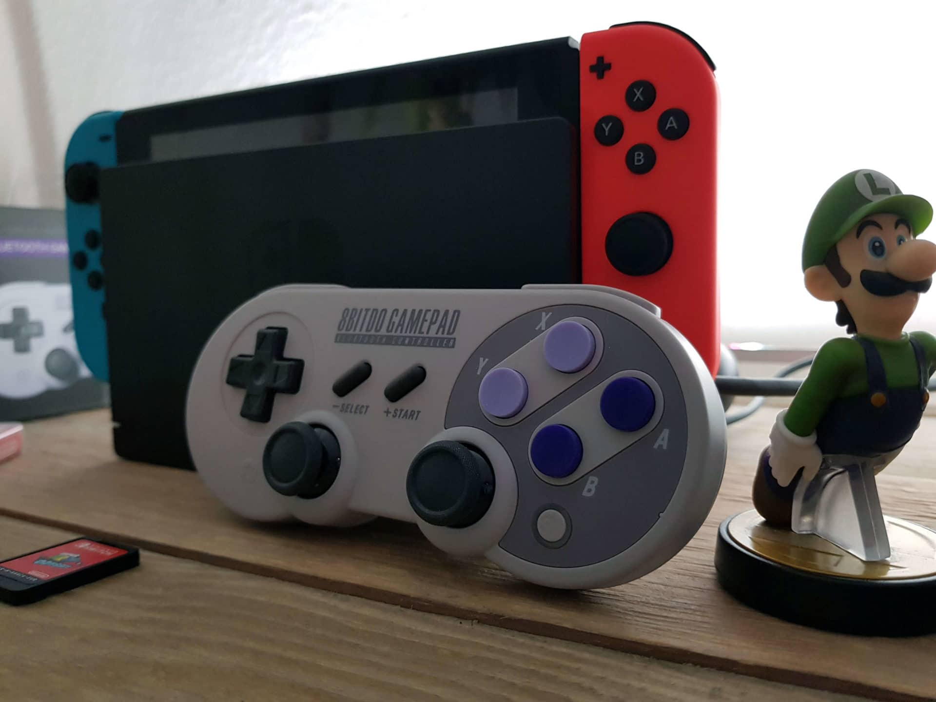 8Bitdo SN30 PRO Gamepad Test: Switch Controller im Retro Design 9