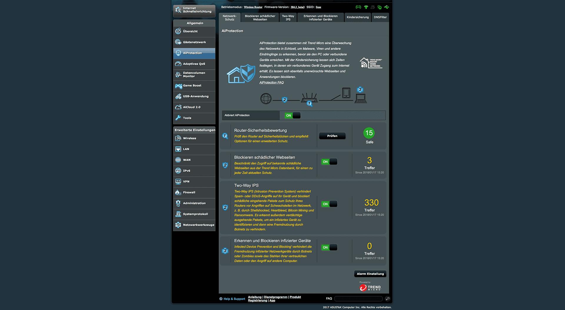 Asus RT-AC86U Test - meine VPN-Router Empfehlung techboys.de • smarte News, auf den Punkt!