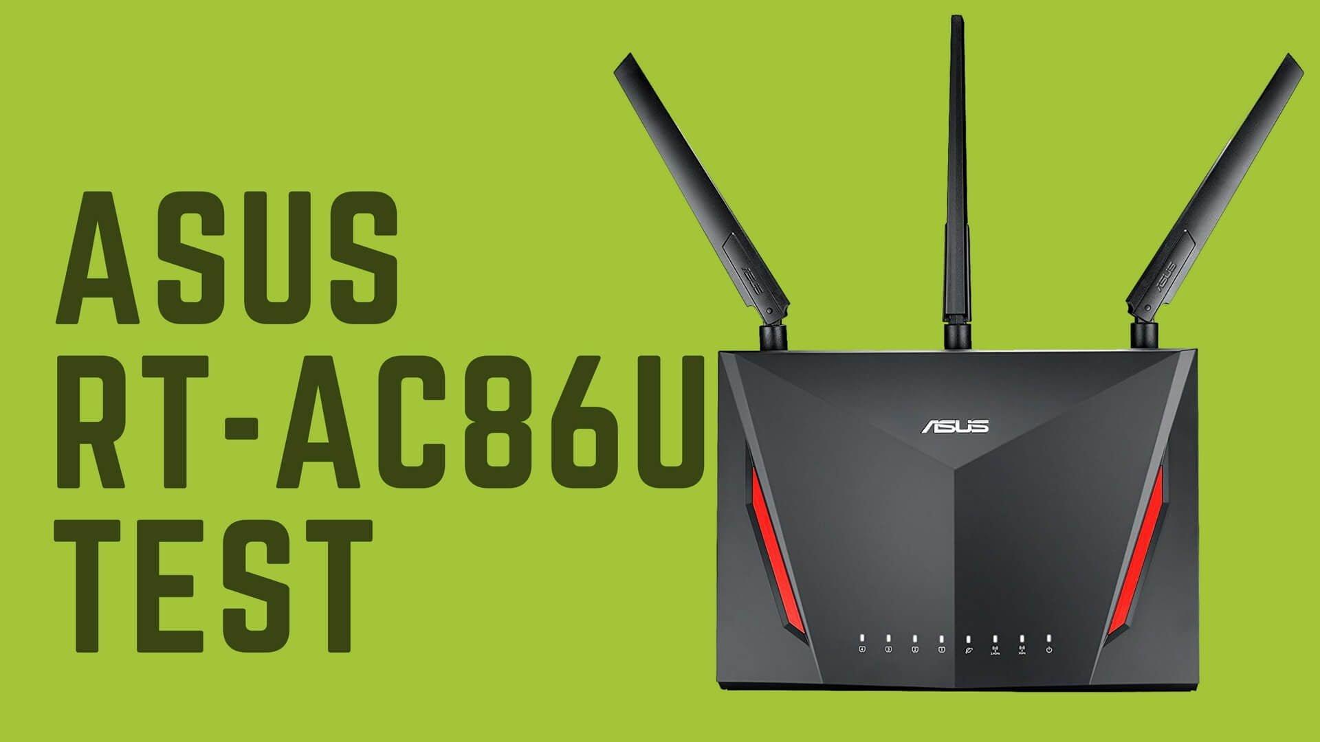 Asus RT-AC86U Test