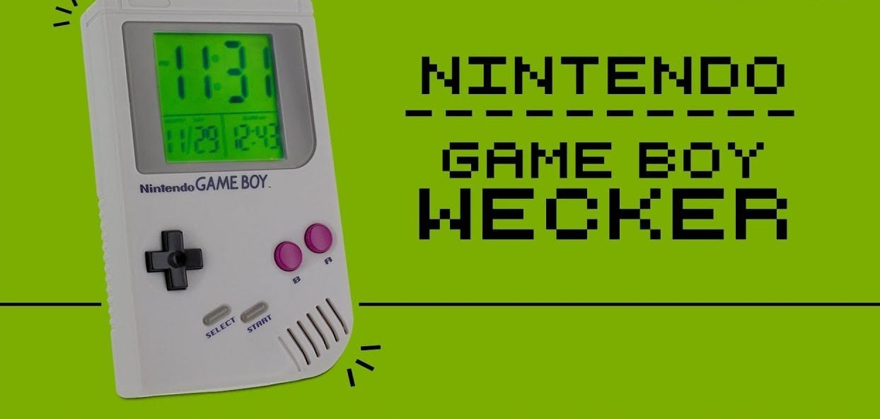 Game Boy Wecker lässt euch den Tag mit Super Mario Sound beginnen 1 techboys.de • smarte News, auf den Punkt! Game Boy Wecker lässt euch den Tag mit Super Mario Sound beginnen