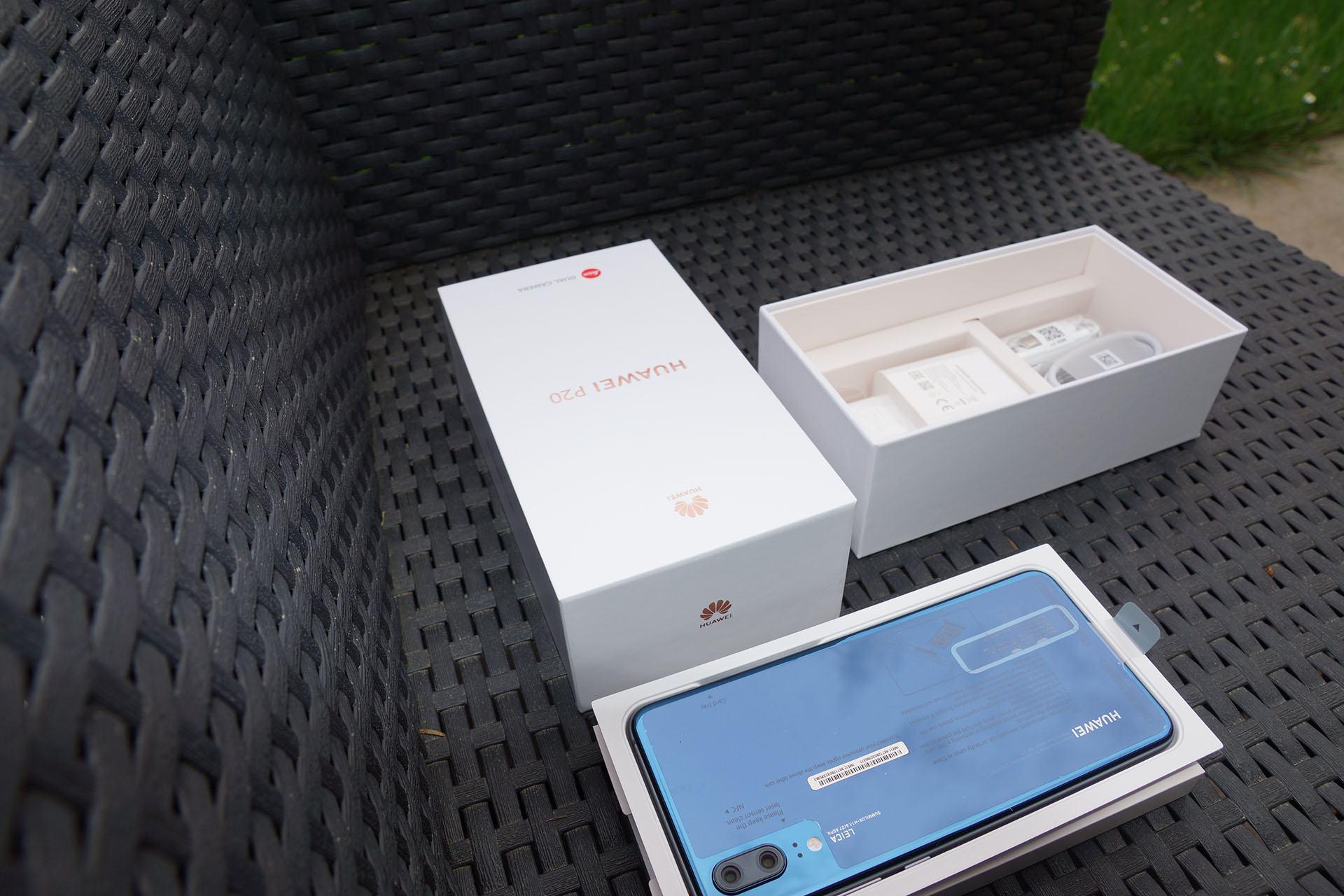 Huawei P20 zum Test eingetroffen, erste Bilder und Eindrücke 3