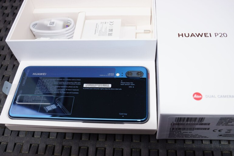 Huawei P20 HandsOn Unboxing
