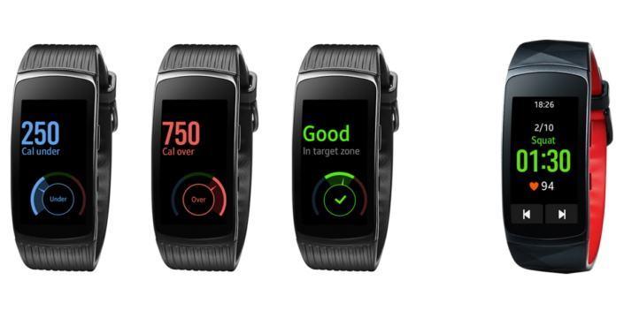 Samsung Gear Fit 2 (Pro) Update verbessert Sensoren und Workout-Erkennung