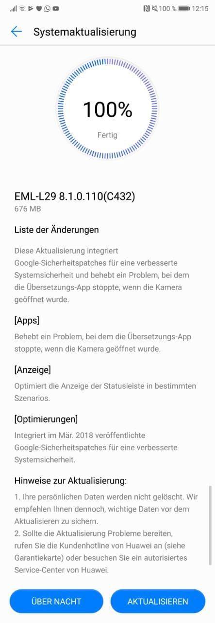 Huawei P20 Update: April Google-Patches und DualSIM-Fix techboys.de • smarte News, auf den Punkt!