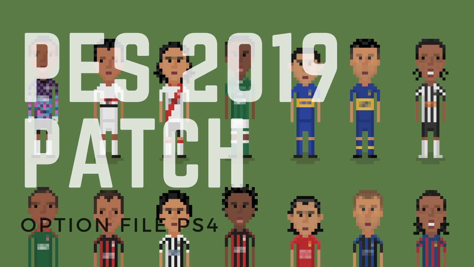 PES 2019 Patches