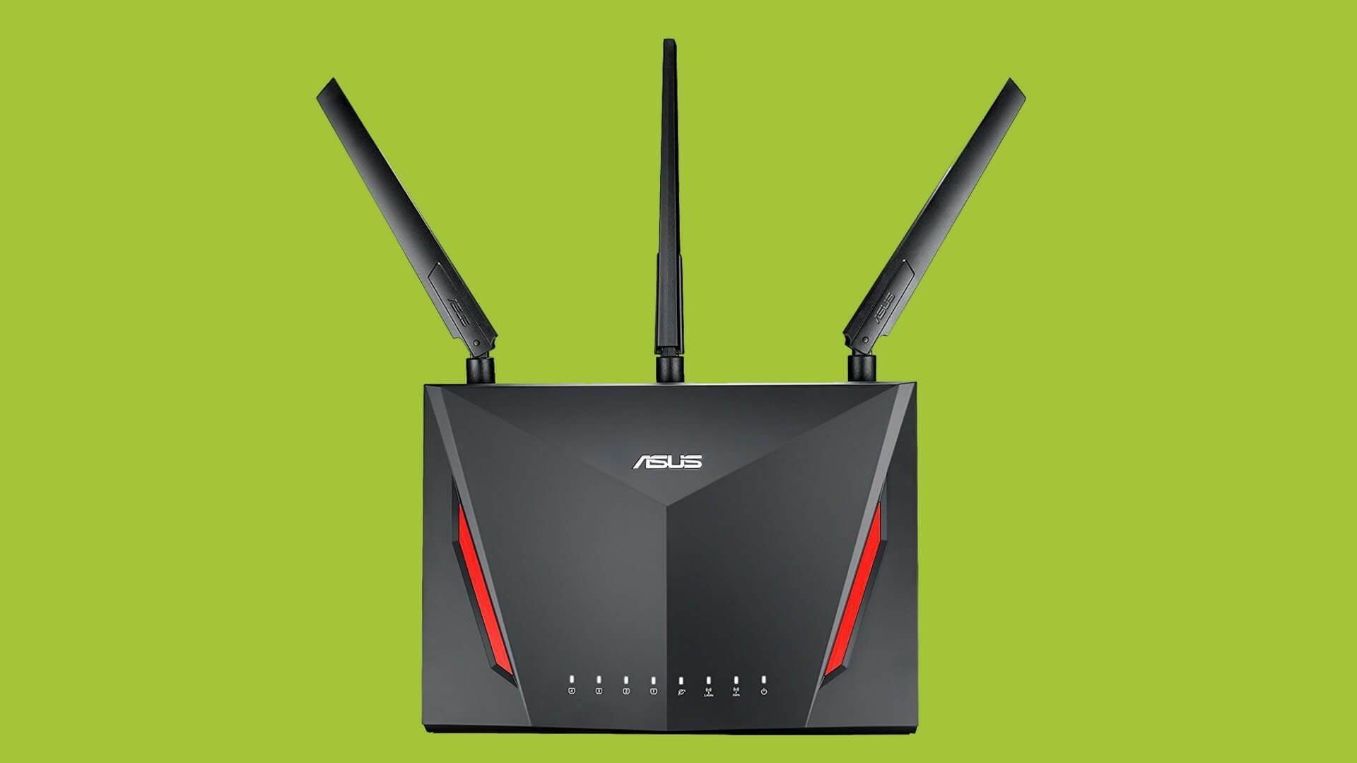 Asus Rt Ac86u Test Der Wahrscheinlich Schnellste Vpn Router Der Welt