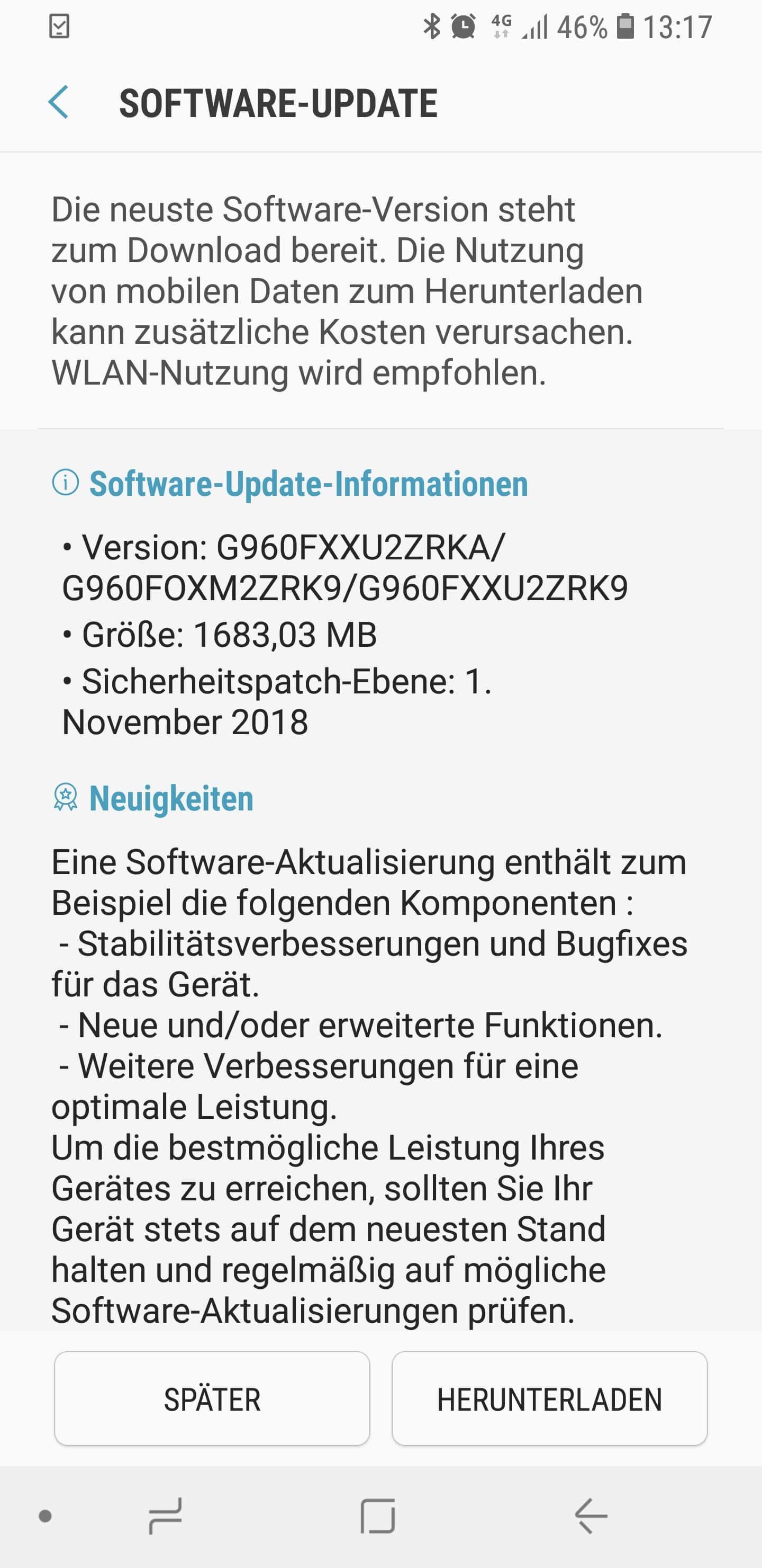 Galaxy S9 Android 9 One UI Beta gestartet: so schön sah eine Samsung UI noch nie aus 12