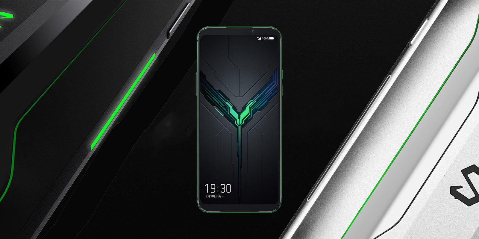 Xiaomi Black Shark 2 Stock Wallpapers