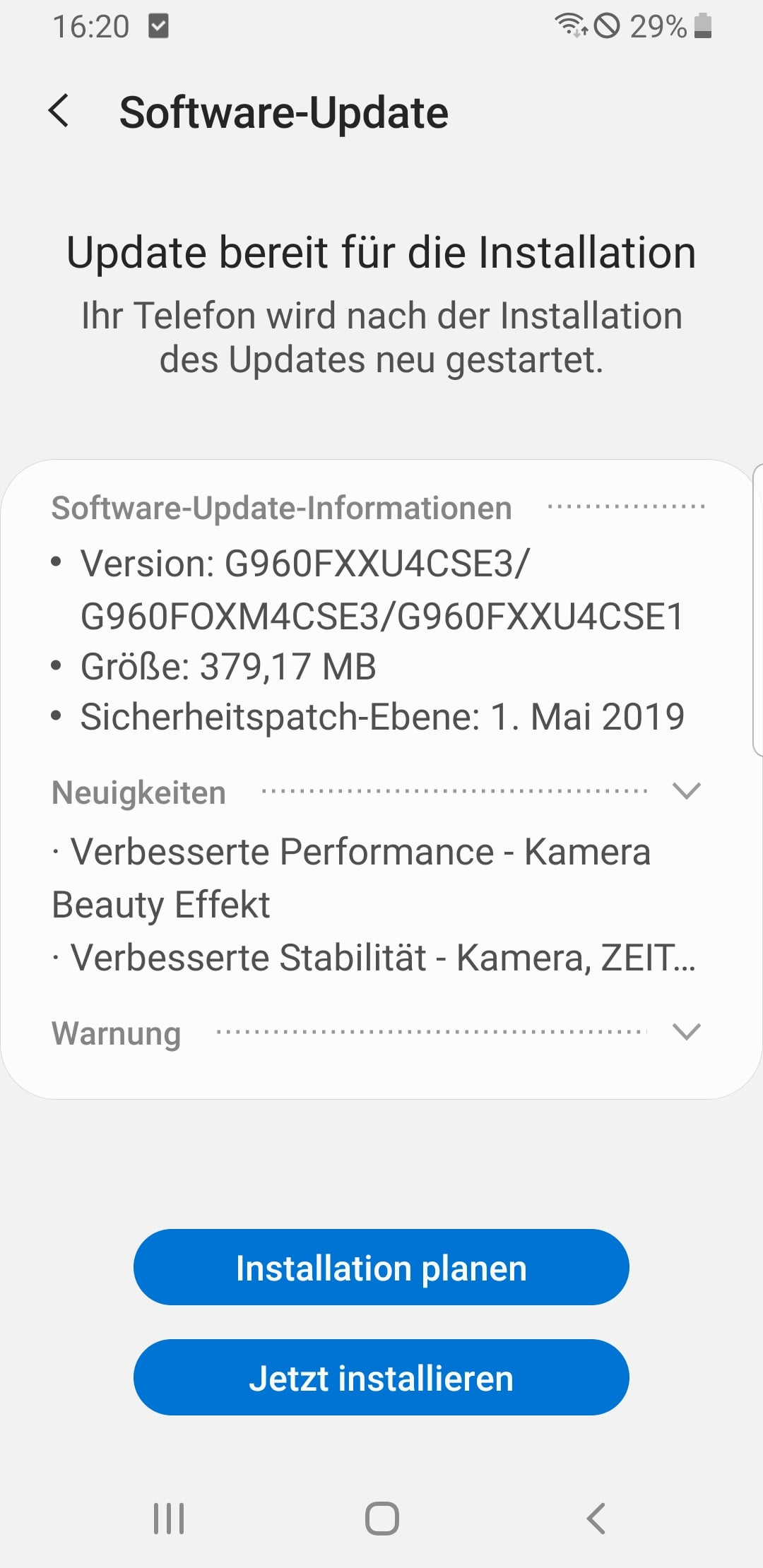 Galaxy S9 Update: Samsung bessert bei der Kamera nach 4 techboys.de • smarte News, auf den Punkt! Galaxy S9 Update: Samsung bessert bei der Kamera nach