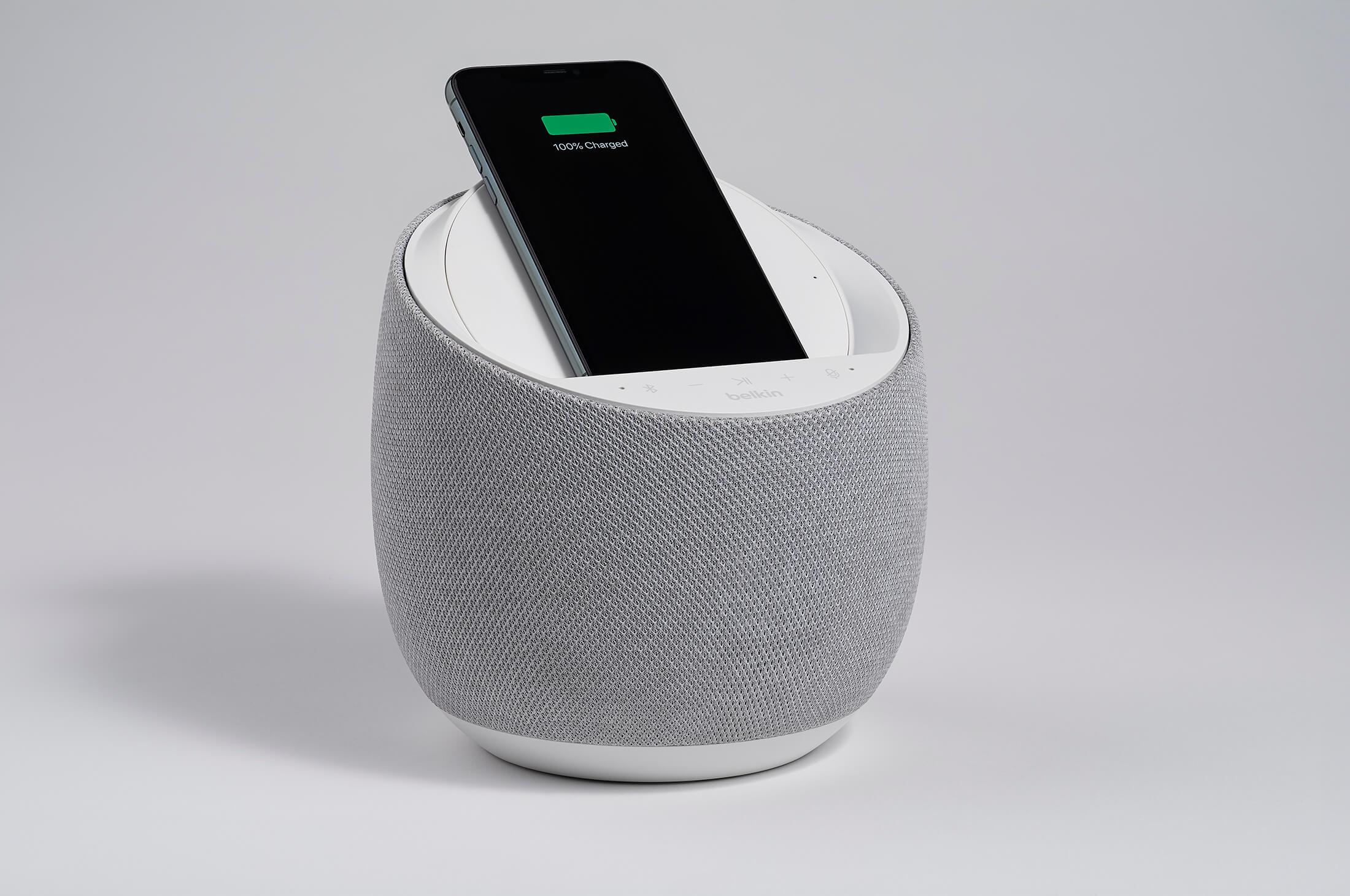 Belkin und Devialet stellen smarten HiFi-Lautsprecher mit drahtloser Ladefunktion vor 31 techboys.de • smarte News, auf den Punkt! Belkin und Devialet stellen smarten HiFi-Lautsprecher mit drahtloser Ladefunktion vor