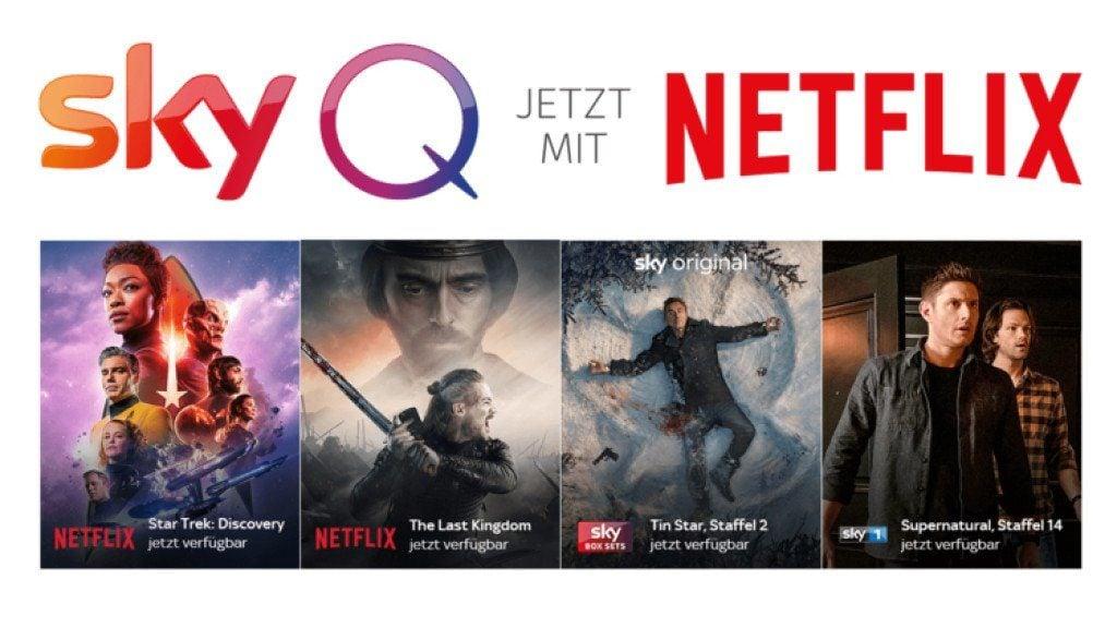 SkyQ und Netflix Serien-Highlights
