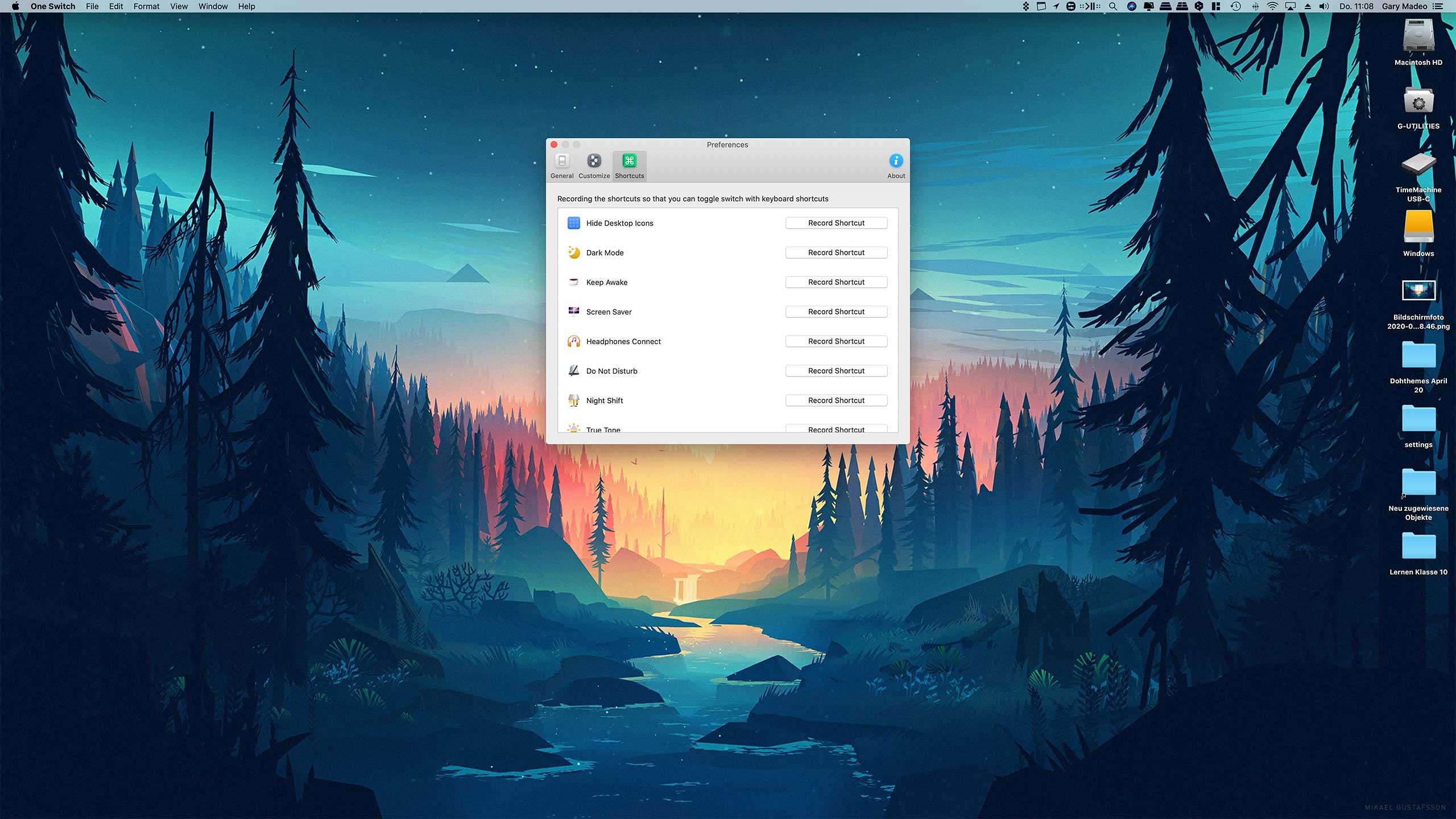 OneSwitch für macOS: Schnellen Zugriff auf wichtige Funktionen erhalten 7 techboys.de • smarte News, auf den Punkt! OneSwitch für macOS: Schnellen Zugriff auf wichtige Funktionen erhalten