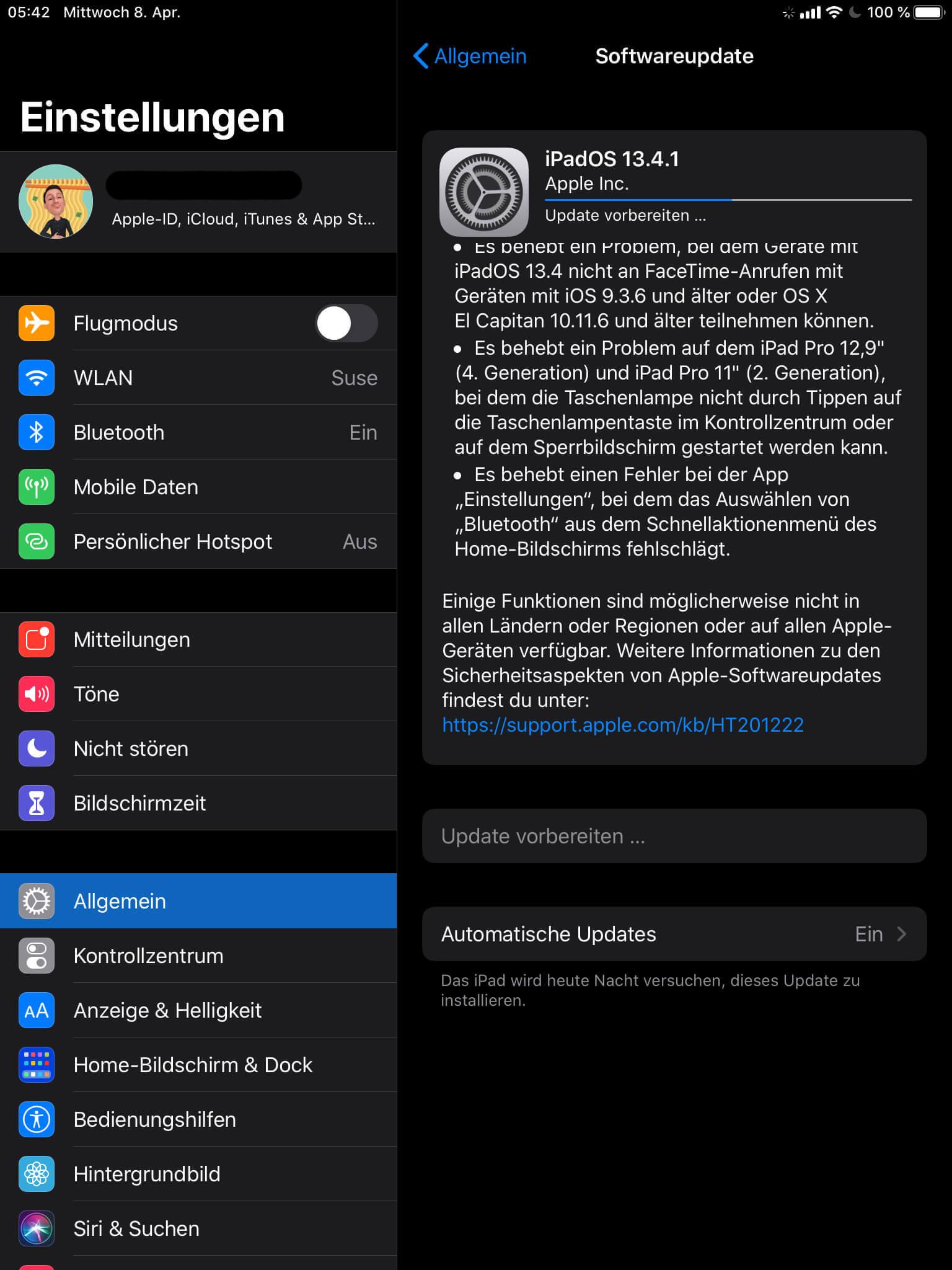 iOS 13.4.1 ist da, FaceTime-Problem ist weg 2 techboys.de • smarte News, auf den Punkt! iOS 13.4.1 ist da, FaceTime-Problem ist weg
